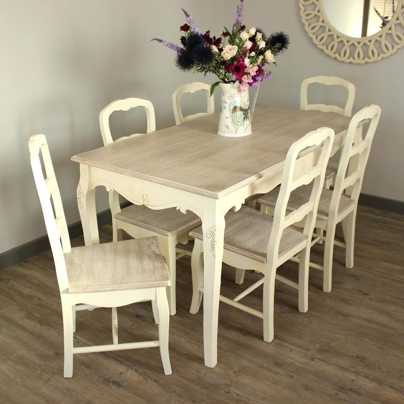 Cheap Dining Table 6 Chairs – Mitventures (Image 5 of 20)