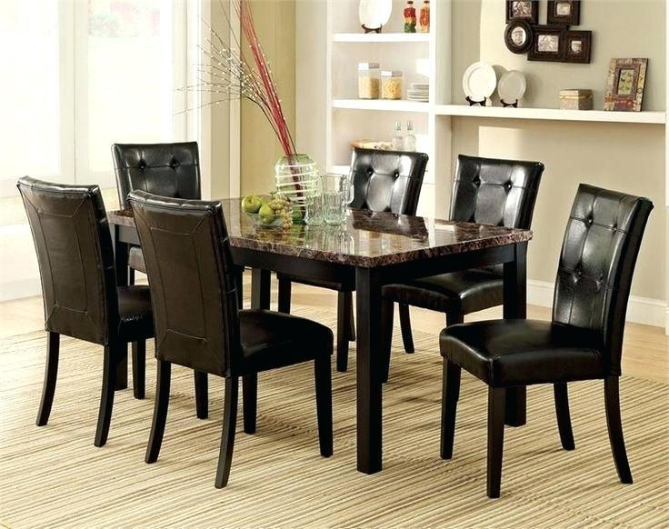 Cheap Marble Dining Table Sets – Mitventures (View 5 of 20)