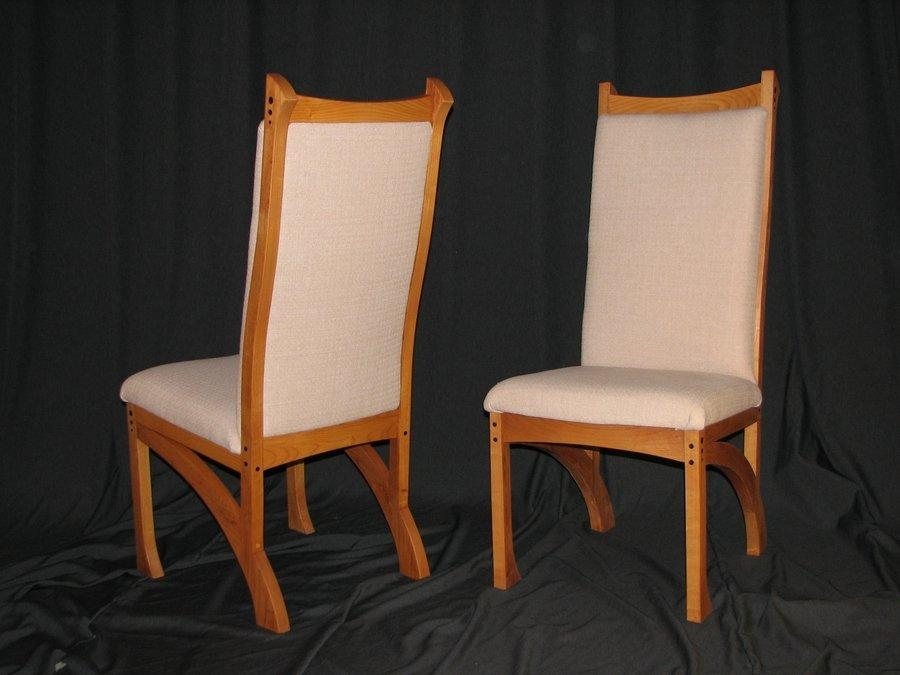 Chester Dining Chairs  Bearkatwood @ Lumberjocks With Most Recent Chester Dining Chairs (Image 7 of 20)