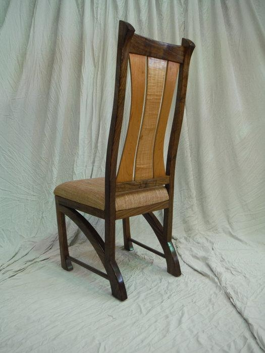 Chester Dining Chairs In Walnut  Bearkatwood @ Lumberjocks Within Recent Chester Dining Chairs (Image 9 of 20)