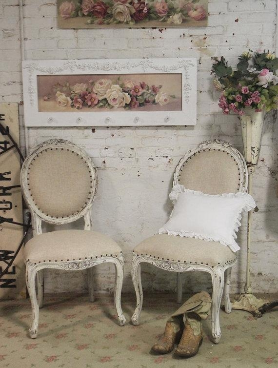 Chic Chairs Pertaining To Newest Shabby Chic Dining Chairs (View 16 of 20)