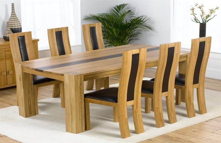 Choosing Oak Dining Furniture | Elegant Furniture Design Inside 2017 Oak Dining Furniture (Image 9 of 20)