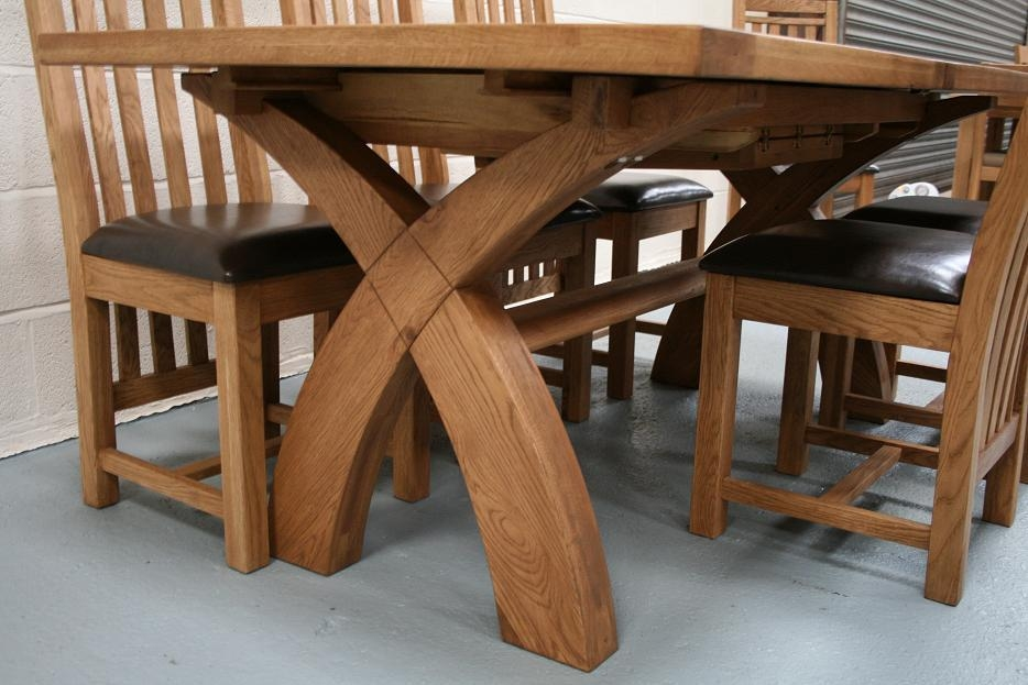 Choosing Oak Dining Furniture | Elegant Furniture Design Intended For Latest Oak Furniture Dining Sets (Image 7 of 20)