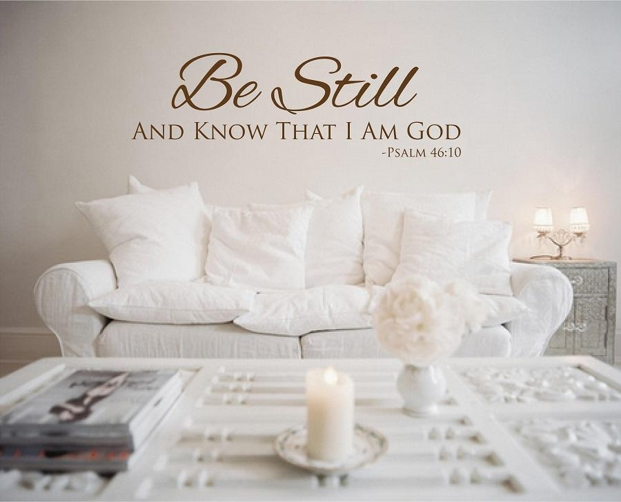 Christian Vinyl Wall Images Of Photo Albums Christian Wall Decals In Christian Word Art For Walls (Image 12 of 20)
