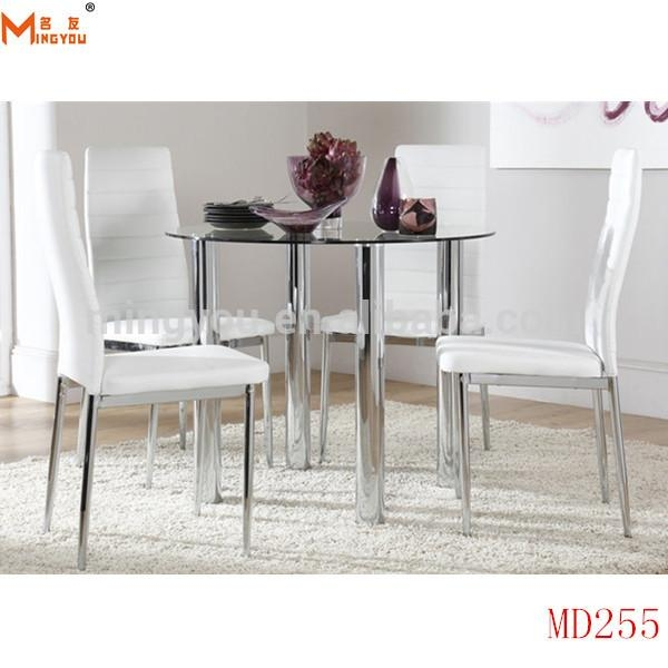 Chrome Dining Table Legs, Chrome Dining Table Legs Suppliers And Regarding Most Recently Released Chrome Dining Tables And Chairs (View 14 of 20)