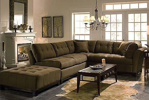 Cindy Crawford Metropolis 2 Pc Microfiber Sectional Sofa Inside Throughout Cindy Crawford Sectional Sofas (Image 11 of 20)