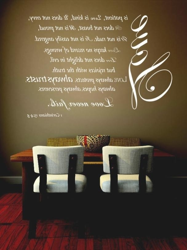Classic Love Is Patient Wall Art | Best Office Chair Blog's Inside Love Is Patient Love Is Kind Wall Art (Image 7 of 20)