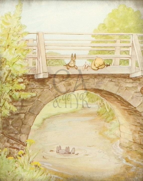 Classic Winnie The Pooh Wall Art Winnie The Pooh Art Print With Classic Pooh Art (Image 13 of 20)