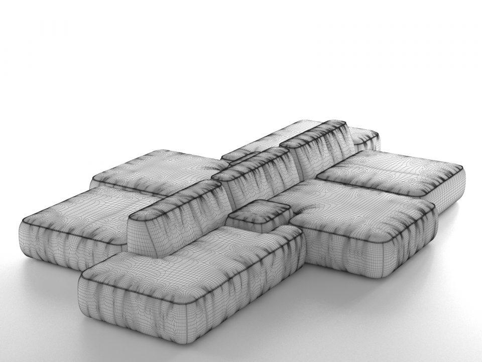 Cloud Magnetic Floating Sofa Cleaning Service Creations Sectional For Magnetic Floating Sofas (Image 4 of 20)