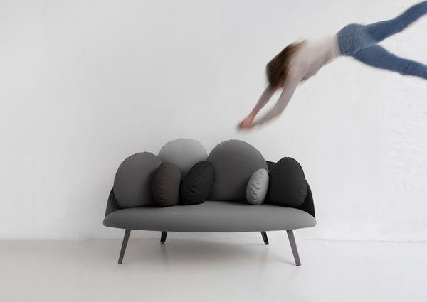 Cloud Resembling Sofas : Nubilo Sofa For Floating Cloud Couches (Image 8 of 20)
