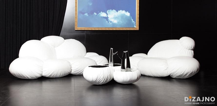 Cloud Sofa7 – Fubiz Media With Floating Cloud Couches (Image 7 of 20)