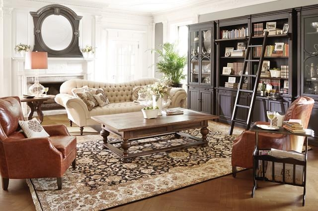 Club Collection – Traditional – Living Room – Cleveland  Arhaus Intended For Arhaus Club Sofas (Image 14 of 20)