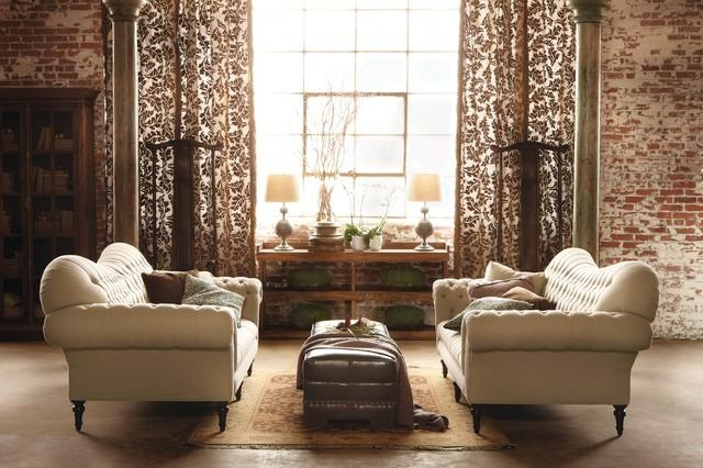 Club Sofa – Traditional – Family Room – Cleveland  Arhaus Throughout Arhaus Club Sofas (Image 16 of 20)