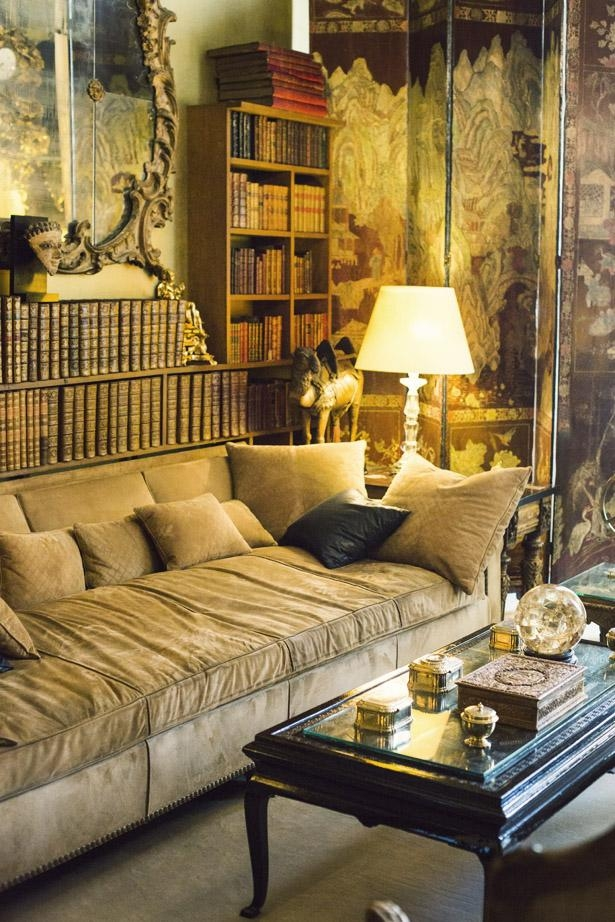 Coco Chanel's Apartment | Ann Street Studio With Coco Chanel Sofas (Image 12 of 20)