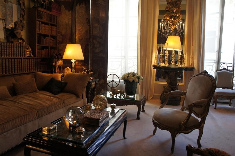 Coco Chanel's Living Room Tour In Coco Chanel Sofas (View 10 of 20)