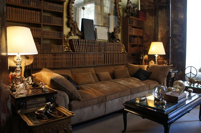 Coco Chanel's Living Room Tour With Regard To Coco Chanel Sofas (View 6 of 20)