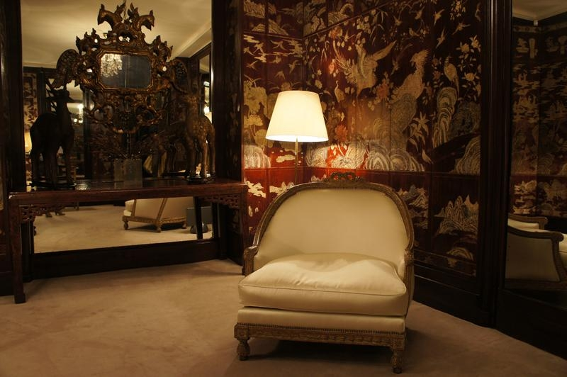 Coco Chanel's Living Room Tour Within Coco Chanel Sofas (Image 15 of 20)