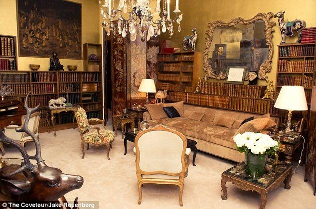 Coco Chanel's Paris Apartment: Healing Crystals, Hidden Doors And Inside Coco Chanel Sofas (View 9 of 20)