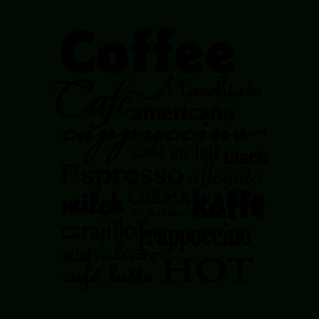 Coffee Subway Art Wall Quotes™ Decal | Wallquotes For Coffee Bistro Wall Art (Image 12 of 20)