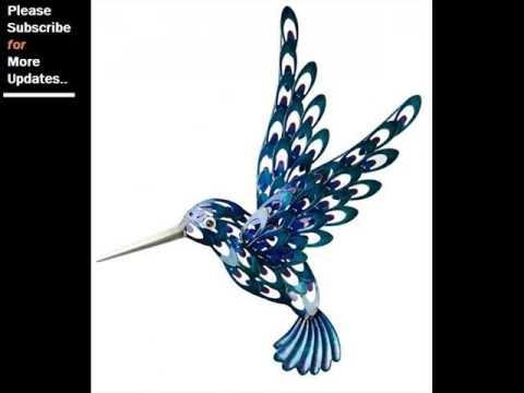 Collection Of Metal Wall Decor Birds | Wall Sculpture Art Ideas For Hummingbird Metal Wall Art (Image 6 of 20)