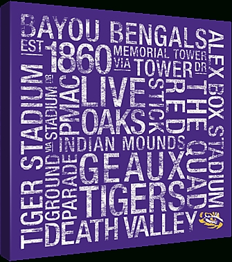 College Town Wall Art Pictures To Buy At Lsupix Regarding Lsu Wall Art (Image 8 of 20)