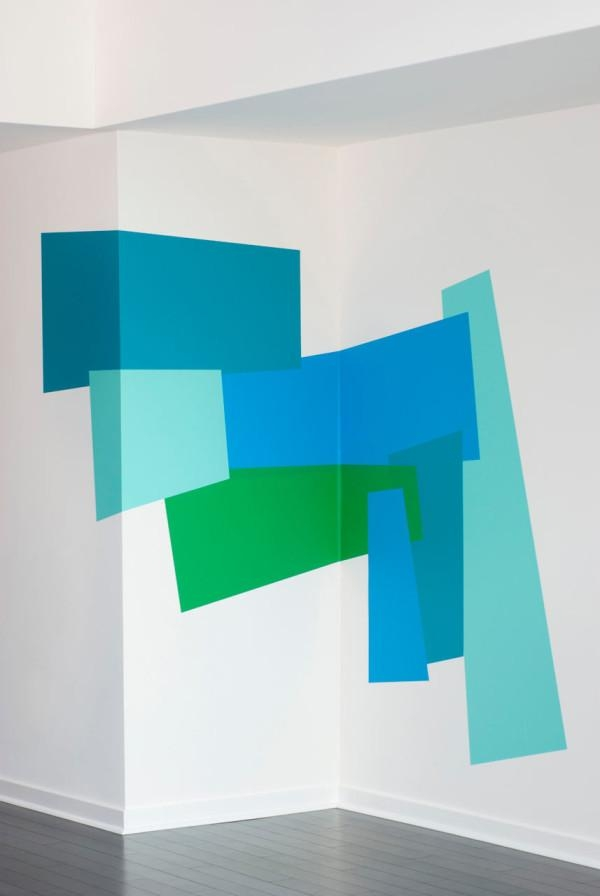 Color Blocking Wall Decalsmina Javid For Blik – Design Milk Throughout Blik Wall Art (Image 11 of 20)