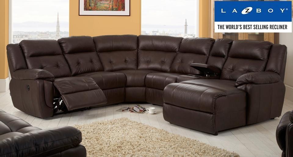 Comfortable Furniture Lazy Boy Manhattan Corner Sofa Within Sofas Image 3