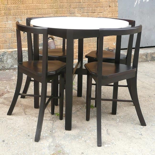 Compact Dining Set | Cityfoundry With Regard To Compact Dining Sets (Image 10 of 20)