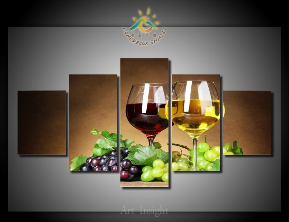 Compare Prices On Grape Wall Art Online Shopping/buy Low Price Within Wine And Grape Wall Art (View 5 of 20)