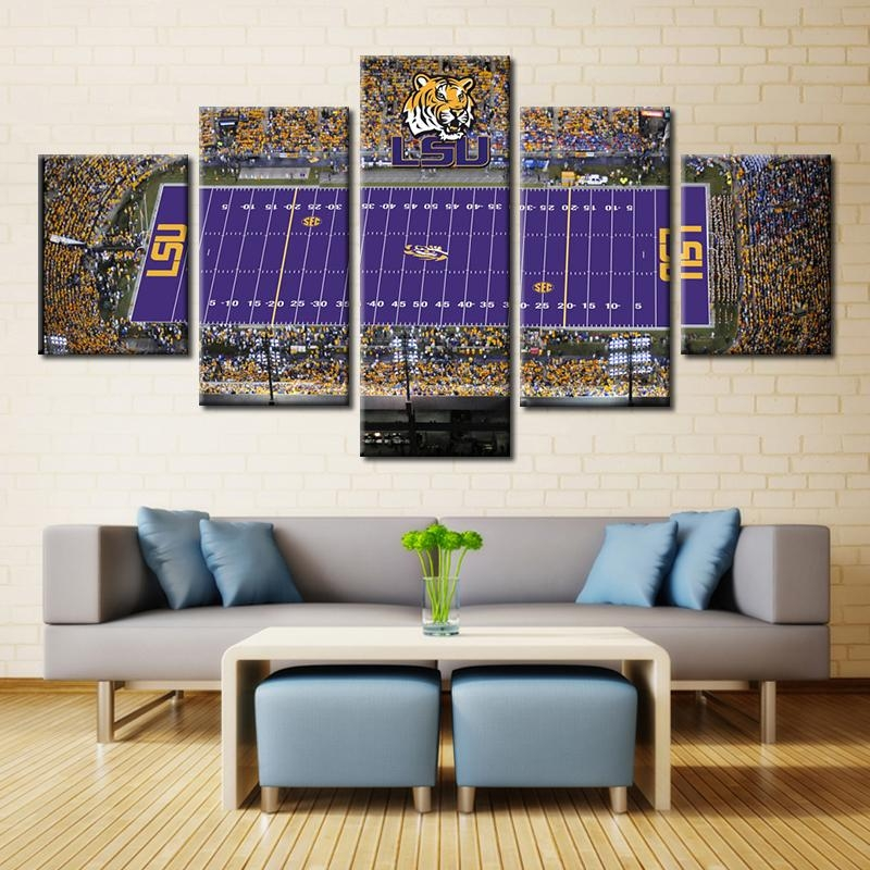Compare Prices On Lsu Wall Decor  Online Shopping/buy Low Price Throughout Lsu Wall Art (Image 9 of 20)