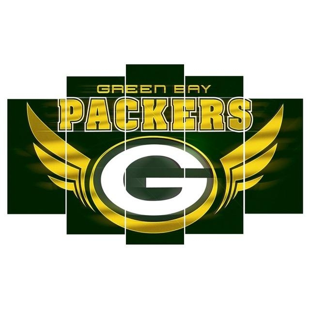 Compare Prices On Packers Live  Online Shopping/buy Low Price Throughout Green Bay Packers Wall Art (Image 4 of 20)