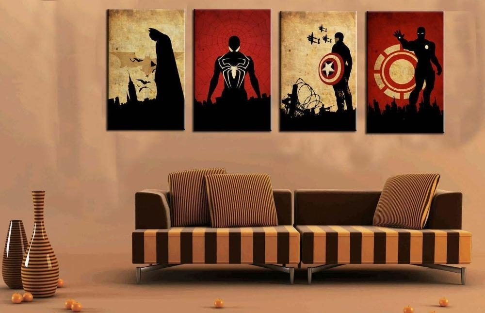 Compare Prices On Pictures Superman Online Shopping/buy Low Price Inside Movie Themed Wall Art (View 11 of 20)