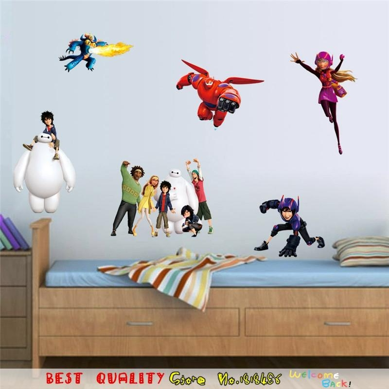 Compare Prices On Wall Art Stickers Superhero Online Shopping/buy Regarding Superhero Wall Art Stickers (View 14 of 20)