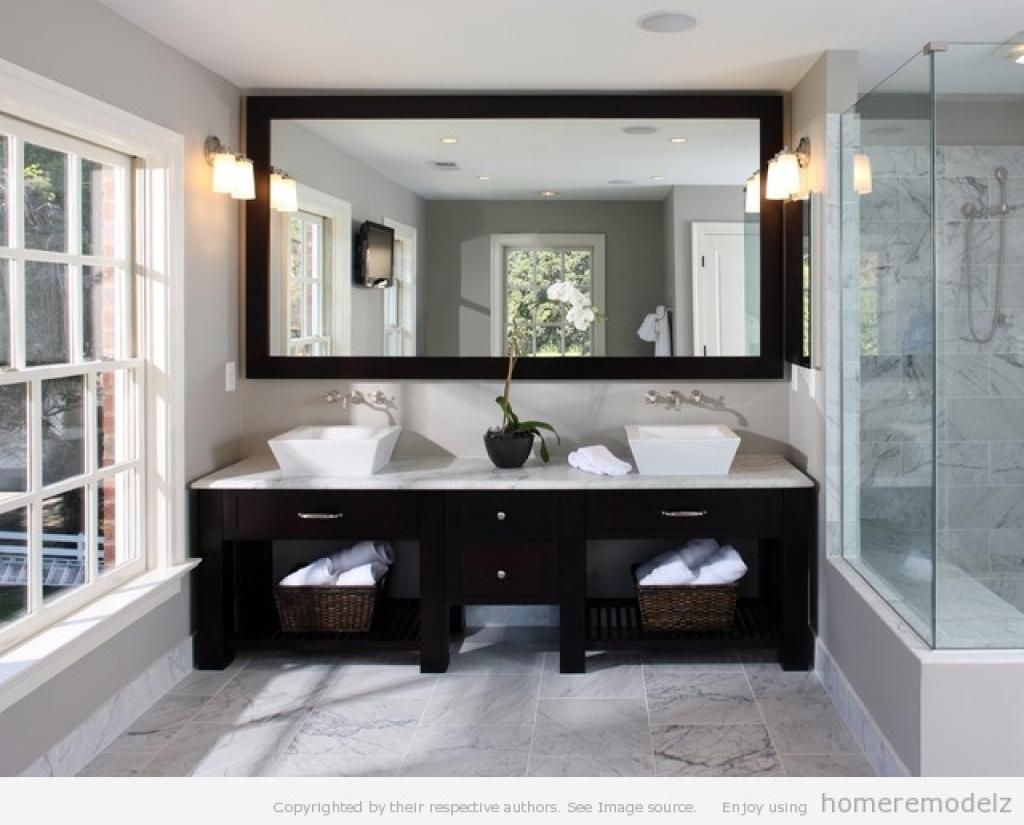 Complete Your Design With Bathroom Vanity Mirrors With Regard To Bathroom Mirrors Ideas With Vanity (Image 15 of 20)