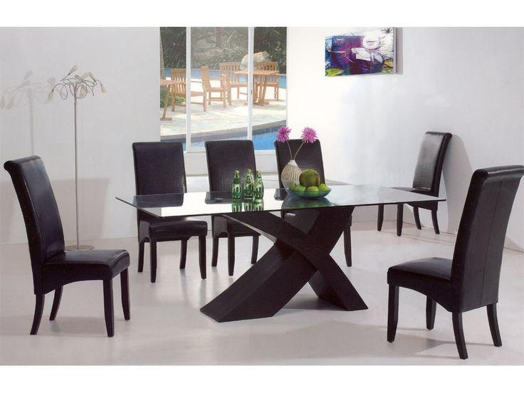 Contemporary Dining Room Furniture Pertaining To Household Regarding 2017 Modern Dining Room Furniture (Image 8 of 20)