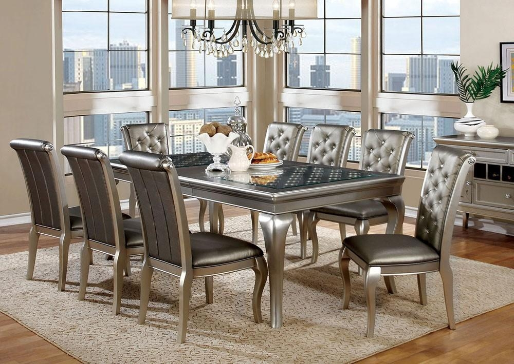 Contemporary Dining Room Sets Modern Dining Room Furniture Set Inside Modern Dining Room Sets (Image 7 of 20)