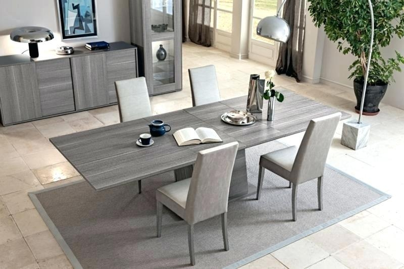 Contemporary Extendable Dining Tables – Mitventures (Image 3 of 20)