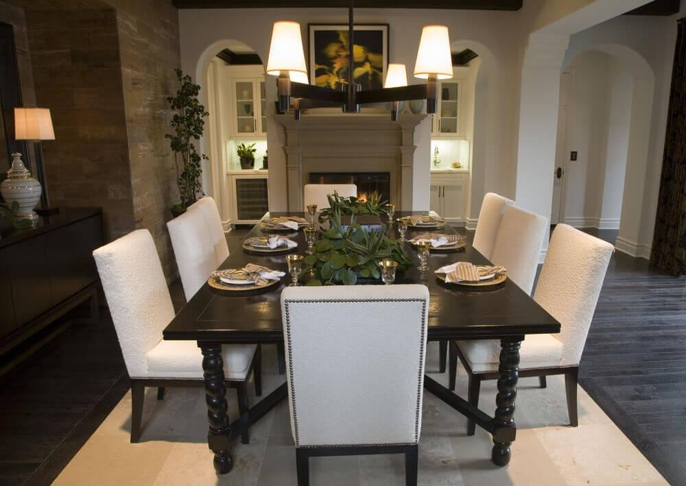 Contemporary Ideas Dark Dining Room Table Projects 126 Custom Intended For Newest Dark Dining Tables (Image 8 of 20)