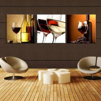 Contemporary Ideas Wine Decor Wall Art Peachy Design Wine Decor Pertaining To Wine Themed Wall Art (Image 9 of 20)