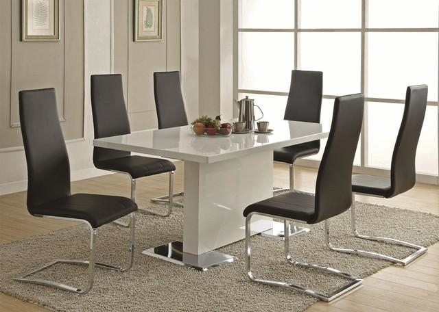 Contemporary Kitchen Dining Sets – Insurserviceonline Within Most Up To Date Contemporary Dining Tables (Image 12 of 20)