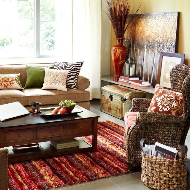 Contemporary Living In Pier One Carmen Sofas (View 14 of 20)
