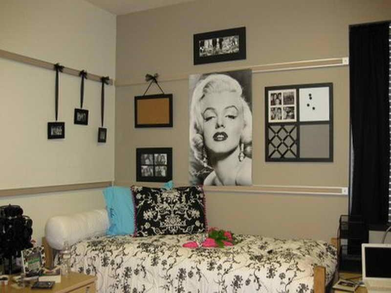 Cool College Great Room Decorating Ideas Dorm Diy Wall Decorations Inside Wall Art For College Dorms (Image 9 of 20)