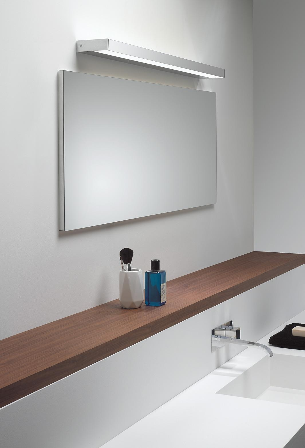 Cool Led Light Wall Mounted Makeup Mirrorglimmernameeks Inside Bathroom Wall Mirrors With Lights (Image 9 of 20)