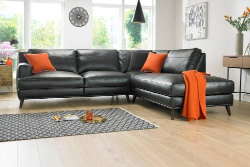 Corner Sofas In Leather, Fabric | Sofology Inside Corner Sofas (Image 9 of 20)