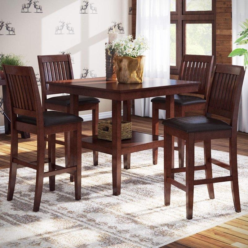 Counter Height Dining Sets You'll Love | Wayfair With Regard To 2018 Dining Sets (View 10 of 20)