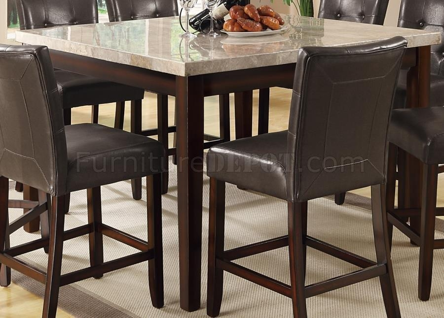 Counter Height Dining Table 103778Coaster W/options In Most Current Milton Dining Tables (Image 6 of 20)