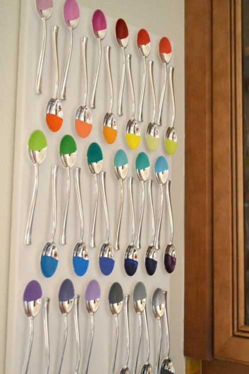 Craftionary With Plastic Spoon Wall Art (Image 9 of 20)