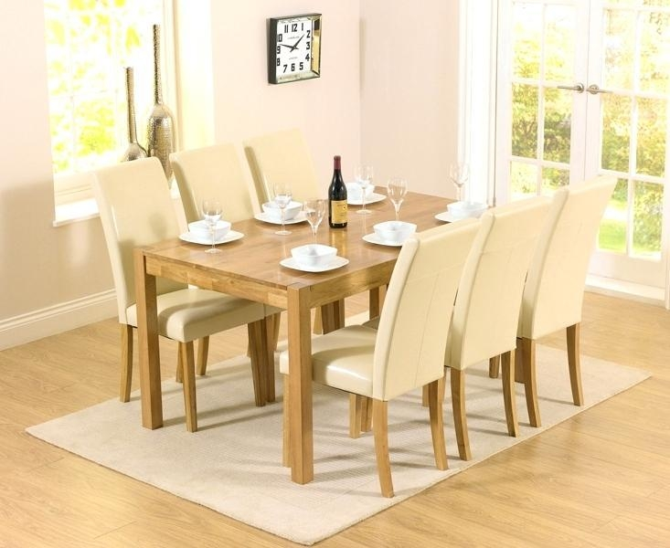 Cream Dining Tables And Chairs – Mitventures (View 20 of 20)