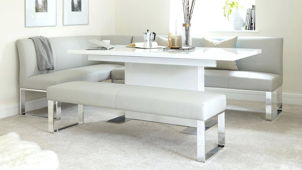 Cream Gloss Dining Table And Chairs – Ceilinglight (View 18 of 20)