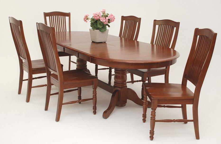 Creative Dinning Room Tables With Oval Wood Dining Table Best Pertaining To Best And Newest Wood Dining Tables (Image 8 of 20)